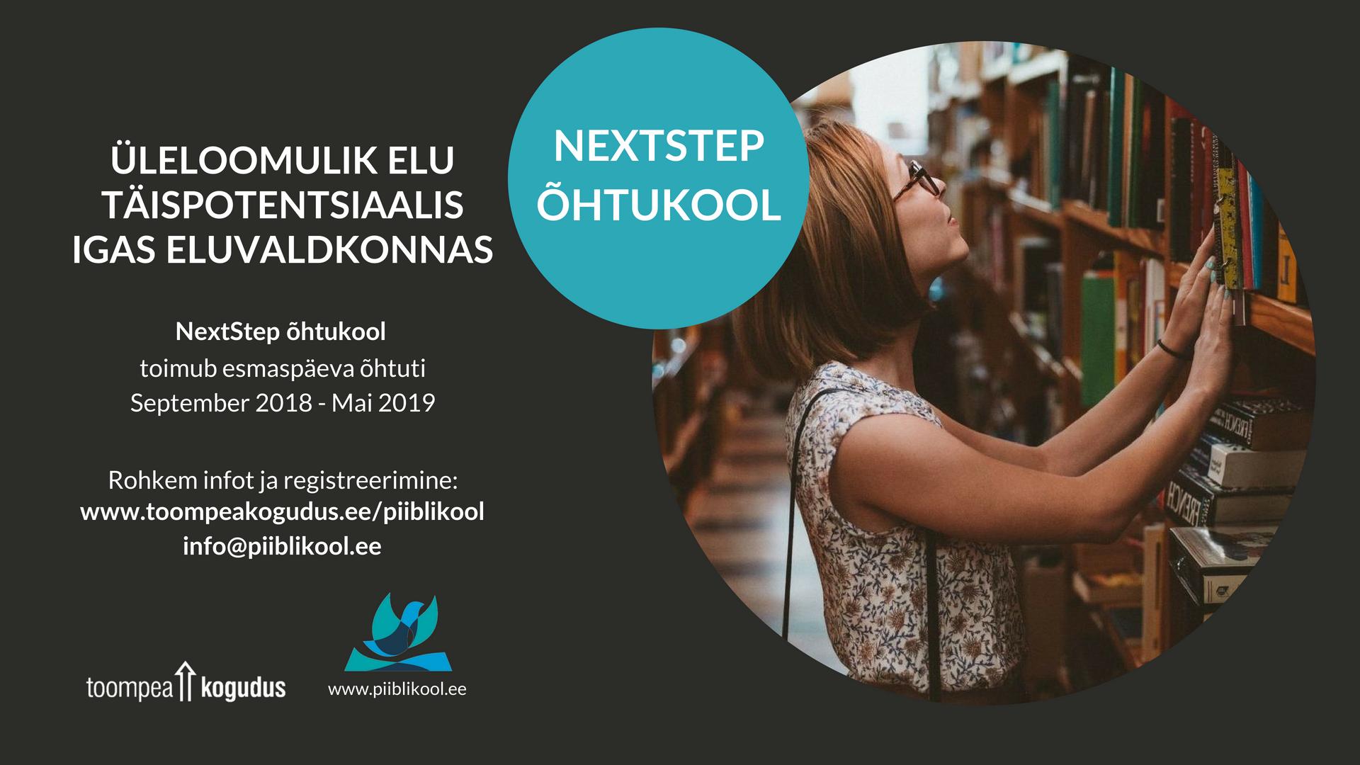 6967a14bd0d NextStep õhtukool - EKNK Toompea kogudus
